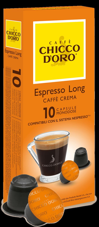 Espresso long – Caffè crema